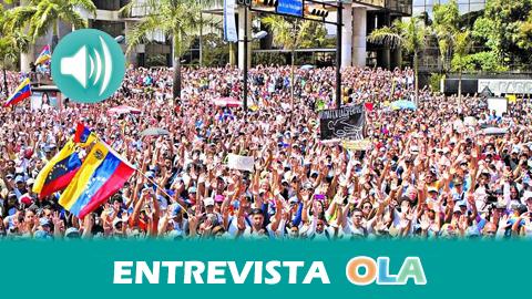 """""""Los Gobiernos de Maduro y Chávez han hecho enormes esfuerzos por sentarse a dialogar con una oposición financiada por los Estados Unidos"""", Catherine Hernández, integrante de la Coordinadora Estatal de Solidaridad con Venezuela"""