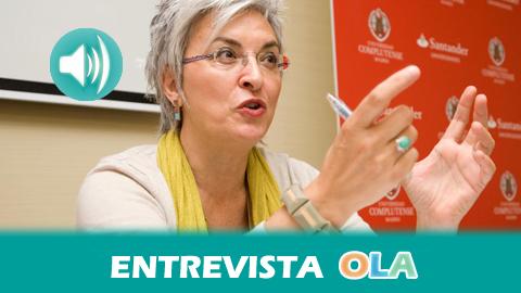 «En Andalucía, el Gobierno regional está haciendo un esfuerzo por regular el sector audiovisual e impulsar la igualdad de género en la industria cinematográfica», Oliva Acosta, cineasta y presidenta de la Asociación Andaluza de Mujeres de los Medios Audiovisuales