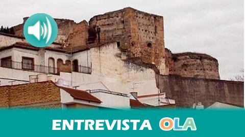 La población y el Ayuntamiento de Castro del Río, en Córdoba, se unen para exigir actuaciones en el Castillo Fortaleza y evitar el deterioro del monumento