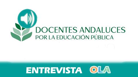 «Hay alternativas a la supresión de plazas docentes sin inversiones extraordinarias, utilizando el propio presupuesto de la Consejería de Educación», Juan Antonio González, de la Plataforma de Docentes Interinos Andaluces