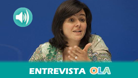 «Es una aberración que nos encontremos con fuerzas políticas con un solo edil en un municipio y que, elegido por una amplia minoría, termine siendo el alcalde», Virginia Pérez, vicesecretaria general del PP-Andaluz