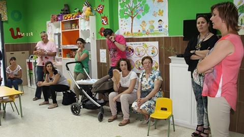 La guardería 'Los Palitos' de San Juan del Puerto ha iniciado el curso tras tres años de espera a que la Junta de Andalucía concertara las 54 plazas que oferta