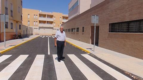 Finalizadas tres actuaciones en Vera por valor de 110.000 euros destinadas a mejorar las infraestructuras viales de la ciudad, que facilitarán las comunicaciones dentro de su casco urbano