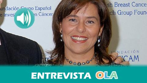 «La dieta occidental, con un alto consumo de productos grasos, aumenta el riesgo de desarrollar un cáncer de mama», Eva Carrasco, directora científica del Grupo Español de Investigación en Cáncer de Mama, GEICAM