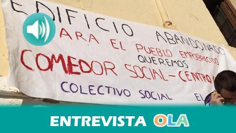 «Queremos crear una red de centros ocupados con el objetivo de fomentar la solidaridad obrera y ayudar a los trabajadores», Alejandro Delgado, portavoz del colectivo centro social El Castillo de Ronda