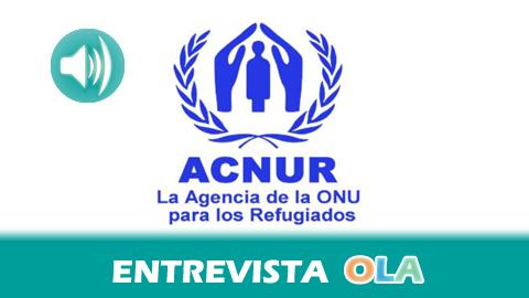 «Las mujeres son el colectivo que más sufre la violencia en los conflictos armados como el de Colombia, ya que son víctimas de la violencia sexual o de los desplazamientos», Rosa Otero, asistente de Comunicación y Relaciones Externas de ACNUR