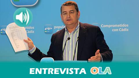 «En materia de empleo Susana Díaz no puede dar ninguna lección porque representa al partido del fraude de los EREs o el de los Fondos de Inversión», Antonio Sanz, portavoz adjunto Grupo Parlamentario PP-A