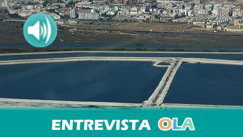 «El plan que propone Fertiberia para las balsas de fosfoyeso en las marismas de Huelva es un despropósito y una amenaza para la zona», Paco García, integrante de Ecologistas en Acción