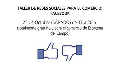 Escacena del Campo ofrece a aquellas personas interesadas la posibilidad de inscribirse en los talleres municipales de artesanía, bolillo y redes sociales orientadas para los comercios y actividades empresariales