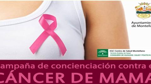 El área de la Mujer y el Centro de Salud de Montellano trabajan en octubre por la concienciación ante el cáncer de mama a través de un amplio programa de actividades