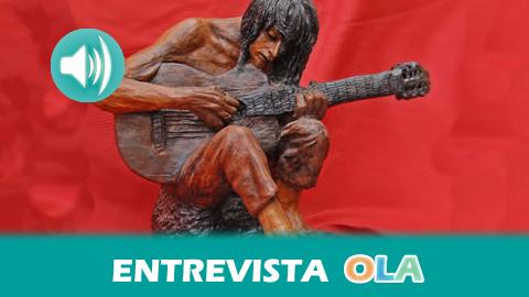 «La cultura y las expresiones artísticas de los gitanos van más allá del cante y el baile flamenco», Luisa Heredia, hija del fallecido escultor granadino Luis Heredia Maya