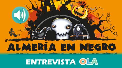 """""""La Noche en Negro de Almería es una noche muy particular en la que la ciudad celebra 'halloween' pero con huella almeriense"""", Ana Martínez, concejal de desarrollo económico del Ayuntamiento de Almería"""