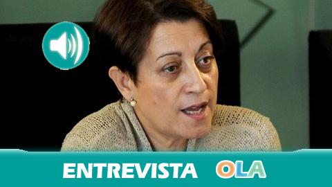 «Debemos trabajar desde las administraciones para que ninguna persona sufra cortes en los suministros básicos como el agua», Dolores Muñoz, secretaria general de Consumo – Junta de Andalucía