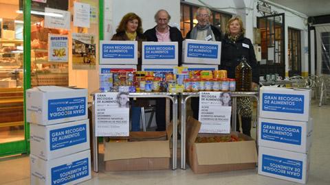 Arranca la tercera campaña solidaria en los colegios onubenses para recoger toneladas de alimentos y concienciar a los y las estudiantes de la necesidad de racionalizar las compras y evitar el desperdicio de alimentos