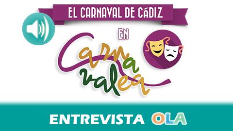 """""""En estos encuentros el autor muestra su esencia, su arte, su forma de carnavalear y le canta al aficionado en un espacio tan entrañable que lo hace sentirse parte del carnaval de Cádiz"""", Lina Moreno, responsable de 'Carnavalea'"""