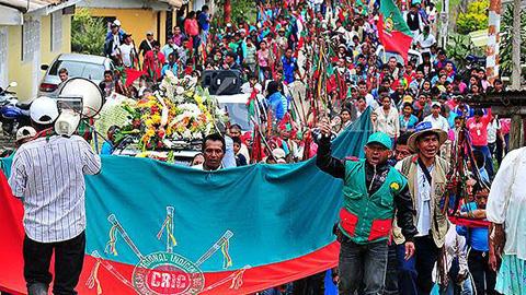 Comunidades indígenas de Colombia condenan a 60 años de cárcel a cuatro implicados integrantes de las FARC por el asesinato de dos comuneros Nasa