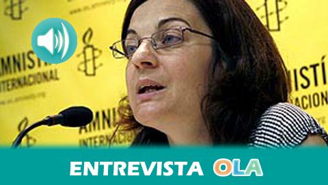 """""""Los estados nunca pueden ampararse en la seguridad para recortar libertades y derechos humanos tal y como reconocen las normas internacionales"""", Virginia Álvarez, responsable de Política Interior de Amnistía Internacional"""
