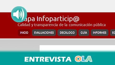 «Todos los municipios andaluces tienen página web pero la mayoría se utilizan como portales de información turística o propaganda del equipo que gobierna», Teresa Vera, investigadora principal de 'Mapa Infoparticip@'