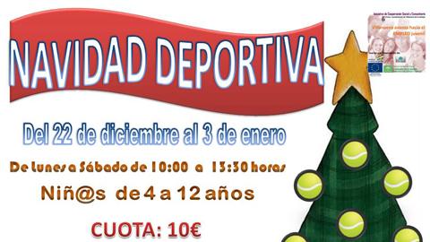 Villanueva del Arzobispo comienza hoy las actividades de la 'Navidad Deportiva', un programa para jóvenes con el objetivo de fomentar el deporte y la vida sana