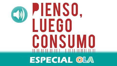 La campaña de sensibilización 'Pienso, luego consumo' llega a las calles andaluzas para promover el consumo responsable en las fiestas