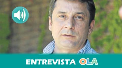 «La cooperación en Andalucía ha conseguido sobrevivir a los recortes, lo que es importante teniendo en cuenta cómo el Gobierno estatal está maltratando a nuestra tierra», Enrique Centella, director general de la AACID