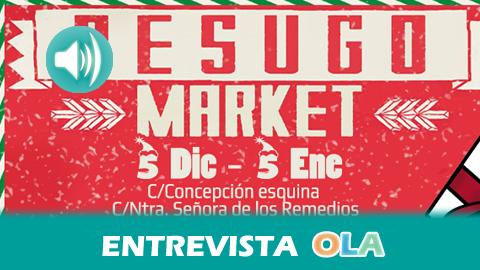 """""""El Besugo Market nace con la idea de fomentar el comercio local y aportar nuestro granito de arena a los malos tiempos que vive el sector"""", Antonio Amezcua, coorganizador del Besugo Market de Chiclana (Cádiz)"""