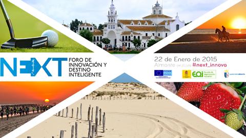 """La Ciudad de la Cultura de Almonte acoge esta mañana el Foro """"Next"""" de Innovación y Destino Inteligente, uno de los principales eventos de innovación aplicada al turismo y la agrolimentación"""