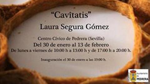 """La artista local Laura Segura, ganadora del premio de Escultura """"Alonso Cano"""", presenta por primera vez en Pedrera la exposición individual """"Cavitatis"""" intentando conectar al público con la naturaleza"""