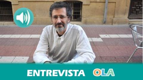 """""""No existen controles de los cultivos que se riegan, mientras los acuíferos están sobreexplotados"""", Abel Lacalle, profesor de la Universidad de Almería e integrante de la Asociación Nueva Cultura del Agua"""