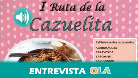 """""""La I Ruta de la Cazuelita de El Cuervo nace con el objetivo de promocionar la rica variedad gastronómica de la localidad"""", Mari Carmen Gómez, concejal de Fomento Económico de El Cuervo (Sevilla)"""