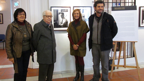 """Alhaurín el Grande acoge durante el mes de febrero """"Naturaleza Viva"""", la nueva exposición fotográfica de José Luis Gutiérrez en la que se podrá contemplar retratos de personajes de la cultura malagueña"""