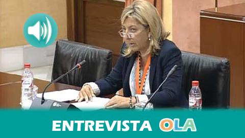 """""""El trabajo de las mujeres está infravalorado y en los mismos puestos los trabajos de hombres tienen pluses que hacen que perciban mayor retribución"""",Maribel González, secretaria de Mujer de UGT Andalucía"""