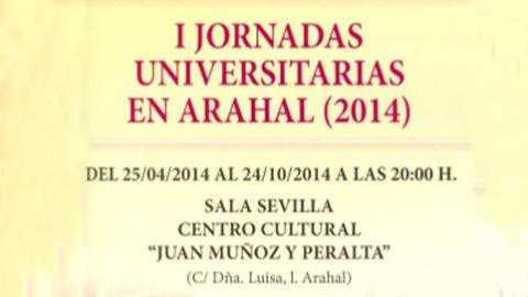 """El municipio de Arahal comienza hoy las II Jornadas Universitarias a través de la Conferencia Inaugural """"Homo digitalis"""", para fomentar la cultura y el conocimiento entre las personas más jóvenes"""