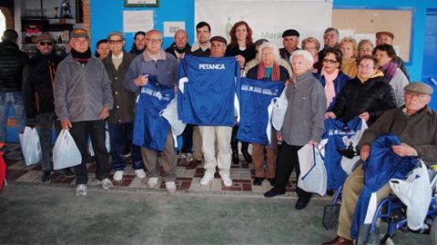 Maracena promociona el deporte entre su población proporcionando equipaciones deportivas a más de 1400 personas inscritas en las diferentes modalidades de competición de la ciudad deportiva municipal
