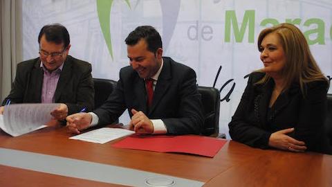 El nuevo movimiento asociativo en materia comercial de Maracena recibe el apoyo del consistorio del municipio granadino por medio de un convenio para trabajar en pro del fomento de iniciativas empresariales