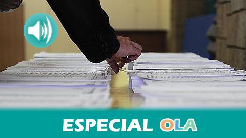 Casi seis millones y medio de andaluces y andaluzas están llamados a elegir la configuración del Gobierno regional en una jornada electoral que se está desarrollando en total normalidad