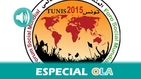"""Túnez acoge elForo Social Mundial, una cita que aspira a reunir a 70.000 personas hasta el 28 de marzo para oponerse a la globalización neoliberal bajo la consigna: """"Dignidad, derechos y libertad"""""""