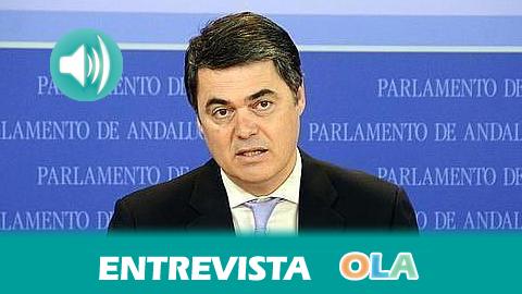 """""""Vamos a plasmar nuestro programa electoral en todas nuestras iniciativas y vamos a seguir dialogando en todos los acuerdos para que Andalucía salga adelante"""", Carlos Rojas, portavoz PP-A en el Parlamento"""