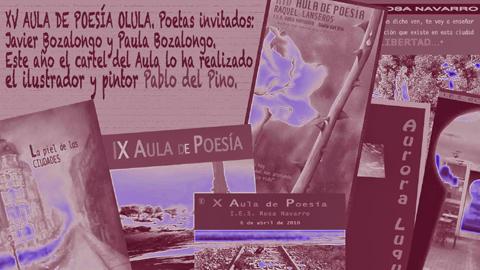 El 'Aula de Poesía' de Olula del Río, iniciativa que fomenta este género literario entre la comunidad educativa, cumple quince años y lo celebra con los poetas Javier Bozalongo y Paula Bozalongo