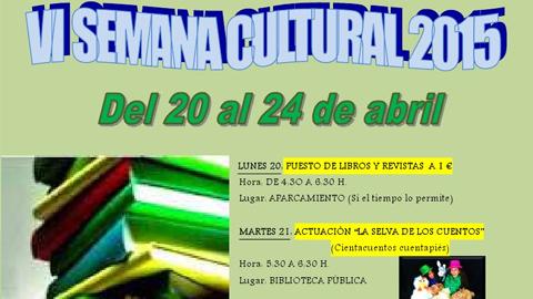 La VI Semana Cultural de Almargen organiza multitud de actividades pensadas para los más jóvenes del municipio, desde una pequeña feria del libro a teatro, talleres gastronómicos o exposiciones