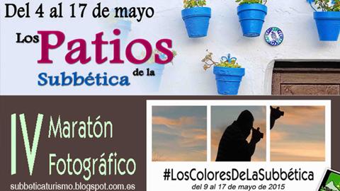 El patrimonio, la cultura y los rincones con encanto de Almedinilla, junto a otros municipios de la Subbética, son protagonistas de la IV maratón fotográfica y el concurso de patios que organiza la mancomunidad