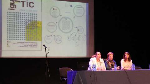 Atarfe participa en el Encuentro Provincial de Asociaciones por la Igualdad de Género, que este año se centra en las tecnologías de la información y la comunicación bajo el título 'IgualTIC'