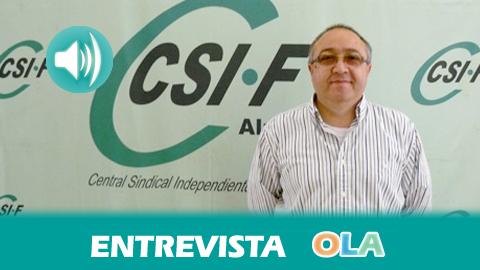 """""""No sabemos si la paralización de la reforma del Registro Civil es por las elecciones o si hay realmente una voluntad negociadora del Ministerio"""", Francisco Rueda, presidente del sector Justicia de CSIF-A"""