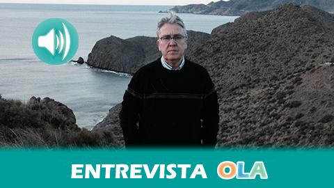"""""""La Semana de los Geoparques Europeos tiene como objeto dar a conocer nuestros recursos geológicos y promocionar este tipo de turismo"""", Emilio Roldán, director del Parque Natural Cabo de Gata-Níjar (Almería)"""