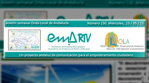 El boletín electrónico semanal de EMA-RTV cumple 150 números de información de proximidad y fomento de las buenas prácticas municipales y ciudadanas