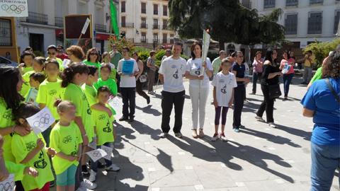 180 alumnos y alumnas de primaria e infantil del colegio Virgen de la Cabeza de Priego de Córdoba participan en las primeras olimpiadas escolares que promueven desde la Fundación Andalucía Olímpica
