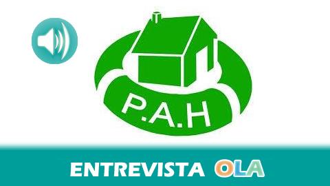 """24M: """"Hace falta una ley de dación en pago que sea real y, por supuesto, la garantía de una alternativa habitacional"""", Fernando Carnerero, portavoz de la Plataforma de Afectados por la Hipoteca en Málaga"""