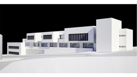 El Nuevo centro de negocios de la Zona Franca de Vejer de la Frontera, que contará con escuela de hostelería y con un parque biosaludable entre otros servicios, estará listo a finales de este año
