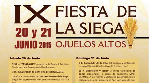El municipio cordobés de Fuente Obejuna rememora, otro año más, las labores de la siega al modo tradicional, celebrando la novena edición de su Fiesta de la Siega, los próximos días 20 y 21 de junio