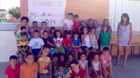 Guillena abre el plazo de inscripción de sus Escuelas Medioambientales, una actividad veraniega dirigida a menores de entre 6 y 12 años con el objetivo de fomentar el respeto al medio ambiente y la solidaridad